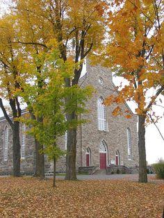 Roxton Falls (église Saint-Jean-Baptiste), Québec, Canada (45.573527, -72.519452)