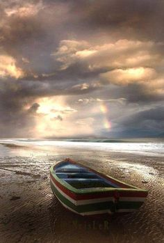 Rainbow after the storm...