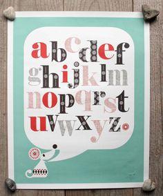 Alphabet mouse
