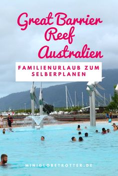 Australien mit der Familie: Great Barrier Reef Urlaub mit Kindern zum Selberplanen.