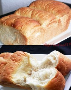 Agege bread (How to make soft - stretchy Nigerian bread)