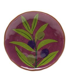 Take a look at this Olive Branch Jardin Lunch Plate by tag on #zulily today!
