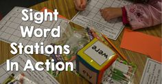 Get your students learning sight words in a FUN way! See Sight Word Stations in action to see sight word recognition and use SOAR.