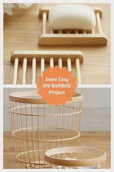 Perfect DIY Bamboo Crafts  #bambooideas Diy Crafts To Do, Diy Arts And Crafts, Home Crafts, Easy Crafts, Diy Christmas Shadow Box, Sleepover Crafts, Clear Plastic Ornaments, Construction Paper Crafts, Bamboo Crafts