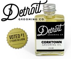 Still Voted The #1 Beard Oil   Detroit Grooming Co. Beard Oils Beards being our passion, we started off aiming to create and distribute the best beard oil for the best beards in town. Again, using premium ingredients to produce the best substances around, we take our beard oil very seriously. All of our oils contain a base of sweet almond oil, which serves to nourish, moisturize and revitalize your beard, leaving whiskers physically and visibly healthy from root to tip.