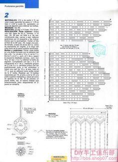 Filet Crochet, Crochet Gratis, C2c Crochet, Crochet Borders, Crochet Diagram, Crochet Chart, Crochet Home, Crochet Doilies, Crochet Stitches