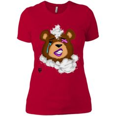 (Female) Damaged Teddy T-Shirt