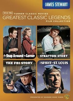 TCM Greatest Classic Legends Film Collection: James Stewart [4 Discs] [DVD]