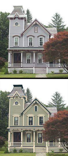 238 Best Old House Restorations Historic Paint Colors