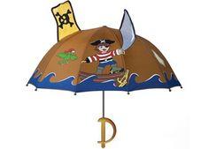 Toller Seeräuber Regenschirm von Kidorable