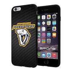 "Nashville Predators Carbon Fiber Design #1745 iPhone 6 Plus (5.5"") I6+ Case Protection Scratch Proof Soft Case Cover Protector SURIYAN http://www.amazon.com/dp/B00X4M6KBE/ref=cm_sw_r_pi_dp_v1Oxvb1J7C8M5"