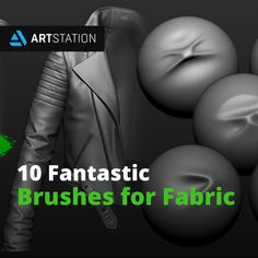 Here are brush packs that can help you get started on your work with fabric, cloth, and clothing. Character Modeling, 3d Modeling, 3d Character, Zbrush Tutorial, 3d Tutorial, Digital Sculpting, Blender 3d, Art Base, Weird Creatures