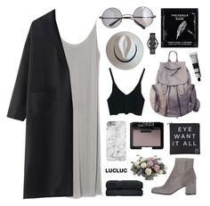 """""""#20"""" by jesicacecillia ❤ liked on Polyvore featuring Retrò, NARS Cosmetics, Gianvito Rossi, Eyeko, TokyoMilk, Marc by Marc Jacobs, Aesop and Allstate Floral"""