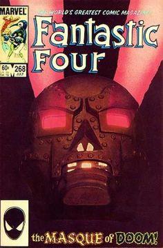 """Fantastic Four #268, """"Masque of Doom!"""""""