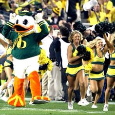 The coolest mascot in the nation!