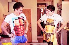 Their cooking outfits :')