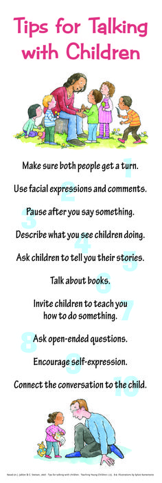 Tips for Talking with Children!