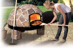 Bahçeleriniz için 9 şahane fikir - Miss Tutorial and Ideas Pizza Oven Outdoor, Outdoor Cooking, Clay Pizza Oven, Fire Pizza, House Front Design, Wood Fired Pizza, Diy Décoration, Eclectic Style, Backyard