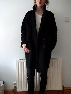 #black coat #2dayslook #alice257891 #blackjacket http://pinterest.com/alice257891