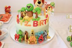 Nihal's 2nd Birthday Cake - Raa Raa The Noisy Lion (cake by Priya Rathod)