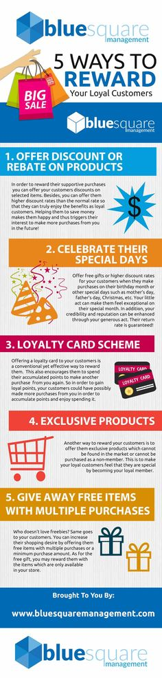 Imagine for a moment you are a customer for a brand you has supported them for years. Would you like to be rewarded in some way for such loyalty? Does your business reward YOUR customers? Do you have a CUSTOMERS REWARD SCHEME? Not sure how to do this? Need some ideas? Check out our Customers Loyalty : 5 Reward Scheme Ideas For Customers INFOGRAPHIC #customerservice #customerloyalty #brandloyalty #customers #customerexperience #business #businessgrowth #infographic