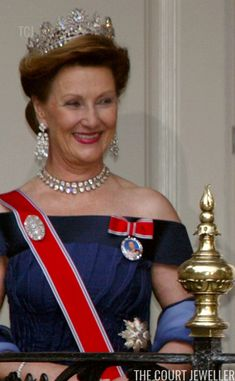 The Daily Diadem: Queen Josefina's Diamond Tiara Royal Diamond, Diamond Tiara, Royal Tiaras, Tiaras And Crowns, Alexandra Manley, Norwegian Royalty, Queen Margrethe Ii, Royal Jewelry, Jewellery