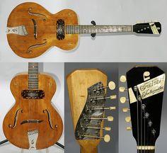 Guitar Blog: 1947 Gretsch Electromatic Spanish Electric Guitar