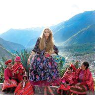 Princesa Inca, Vogue viaja a Perú