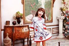 32.68$  Watch here - http://ali2sk.shopchina.info/1/go.php?t=32583902674 - WL MONSOON  Brand Girls Dresses Kids Clothes Princess Dress Half Sleeve Digital Flower Children Dress for Girls Clothes  #buymethat