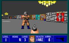 Wolfenstein 3D Released in 1995