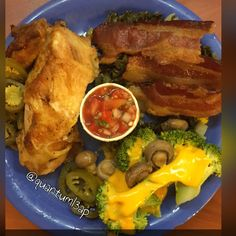 Tryna low carb at Golden Corral baken Chicken w/ Jalopeno , greens w/ bacon broccoli & cheese with mushrooms#quantuml3ap  #Lowcarb #eatclean #jerf #widn #keto #paleo #eating #hungry #foodpics #lchf #lowcarbhighfat #lowcarblifestyle #cleancarbs #lowcarbrules #ketolife #atkins #eatcarbsforwhat  #foodjourney #foodblogger #foodpics #foodie #icook #ieat #iworkout #mealprep #ketosis #ketogenic