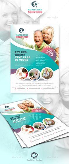 Home Care Flyer Templates | Meal preparation