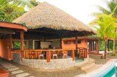 Bar at top villas Tranquilo Lodge Drake Bay, Osa Peninsula Costa Rica #fishing #travel #vacation