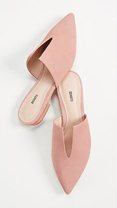 Schutz Kirsten Point Toe Mules