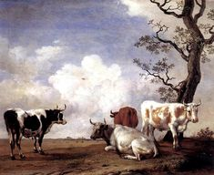 Paulus Potter - Four Bulls