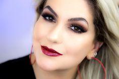 Já foram lá no blog meu povo??? Hoje preparei uma boca super poderosa pra vocês!!!  http://ift.tt/K6CATG #alicesalazar #makeup #bocabrilhante #make