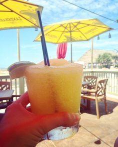 Frozen mango margarita from Wicked Cantina Florida Vacation, Florida Travel, Florida Trips, Frozen Mango Margarita, Bradenton Beach, Holmes Beach, Anna Maria Island, Anna Marias, Fresh Seafood