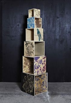 bonnie and neil wooden storage cubes