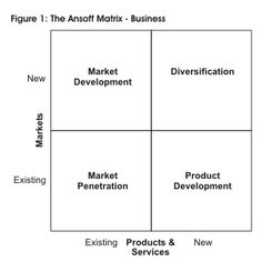The Ansoff Matrix - Business