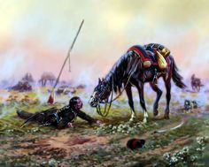 Dying Cossack