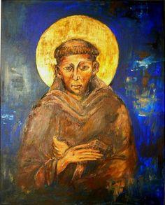 Ikona Święty Franciszek