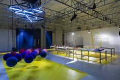 PLAYFUL INTER-ACTION exhibition by Fabrica & Minale-Maeda, Rome
