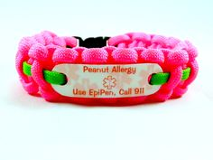 You can now personalize your own medical alert ID bracelet colors. Kids love to…