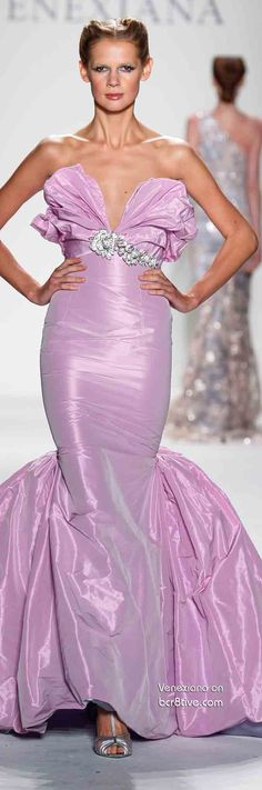 *The Gown Boutique* Venexiana Spring 2014 #NYFW