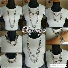 Cityscape necklace. Premier Designs Jewelry. Saracarrico.mypremierdesigns.com #pdstyle
