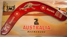 Red Boomerang for Nicky Photo - Visual Hunt