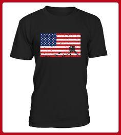 American Flag Hockey Tshirt - Eishockey shirts (*Partner-Link)