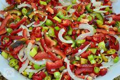Romanian Food, Caprese Salad, Jamie Oliver, Ratatouille, Salsa, Ethnic Recipes, Mexican, Hip Bones, Canning