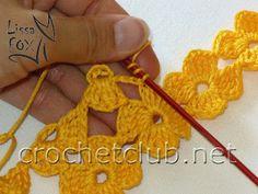 crochet flower-power, picture tutorial.