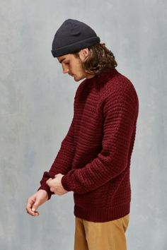 Native Youth Oversized Sweater - Urban Outfitters